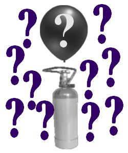 Luftballons und Ballongas finden?